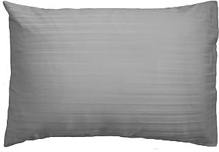 Gallery Direct 50.0 x 75.0 x 15厘米 Strada Housewife 枕套,2件装,银色 银色 50 x 75 x 0.5 cm 5055299483688