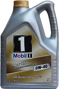 Mobil 美孚 金装美孚1号(0W-40) 5L装 欧盟原装进口 (部分地区已开通线下安装及保养服务!仅限亚马逊自营商品)