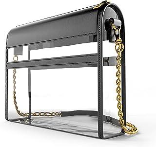 透明钱包体育场批准斜挎包   设计师透明女士手提包