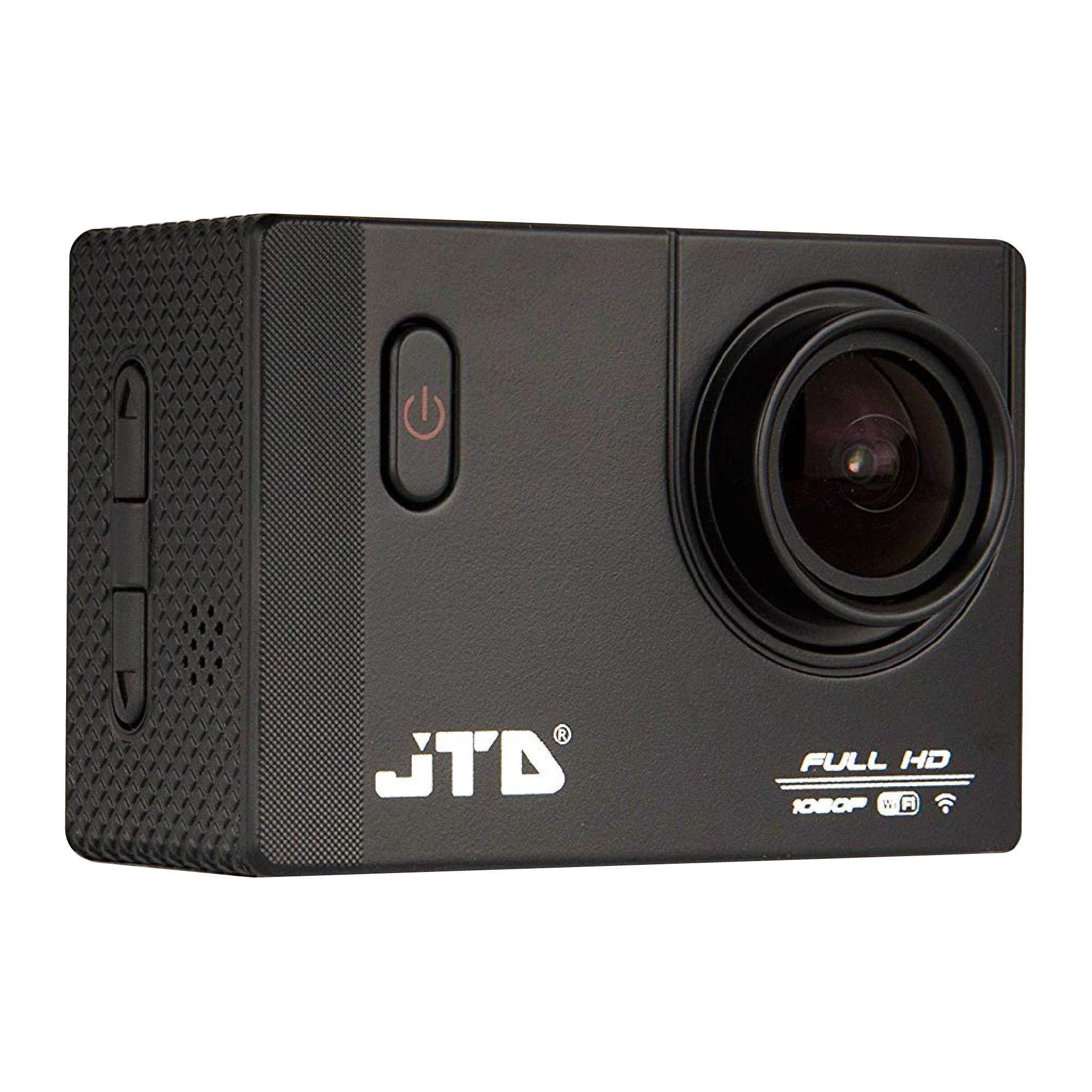 / 4インチカメラインタフェース、ブラック380360写真/ Videostativ DV-1580ブラックを含むパケットカメラ12MPのJTD J-EXP 2.0高度なモーションDV動作1080自転車オートバイ屋外スイミングダイビング(ブラック)に適した170度の角度アンチグレアコーティングレンズモーションカメラ防水カメラDVカメラ