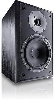 Magnat 密力 Monitor Supreme 252 中置扬声器 高音质 无源扬声器箱 用于高品味高保真声音 黑色