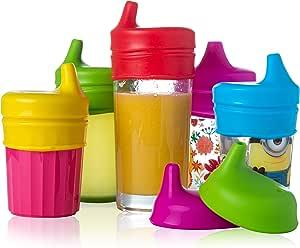 Baby Sippy 盖子(5 包)(防起球)Make Cups 鸭嘴杯!