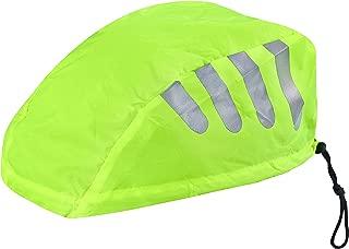 Büchel 中性 - 成人自行车头盔护罩带反光材料,弹性设计,85310784-1,黄色,