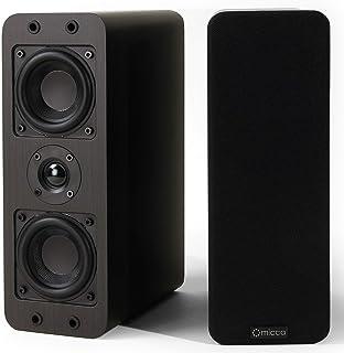 Micca OoO 书架音箱,带 3 英寸低音扬声器和丝质高音扬声器OoO 双
