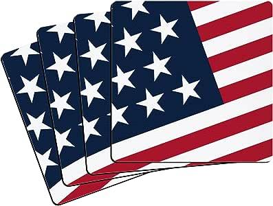 "Boelter Brands ""United States Flag"" Neoprene Coasters, 4-Pack"