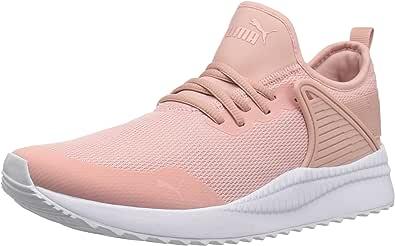 PUMA 彪马 女式 Pacer Next Cage WNS 运动鞋 桃米色米黄色 5.5