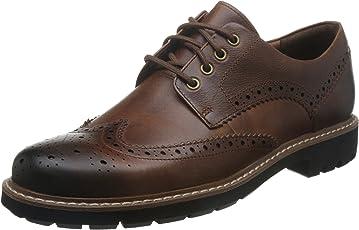 Clarks 男 布洛克商务休闲鞋 2612