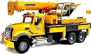 Bruder Mack Granite Liebherr起重机玩具卡车