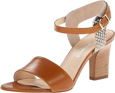 Aquatalia Vansy 女士正装凉鞋 Cuoio Combo 6 M US