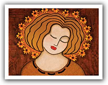 ArtWall Gloria Rothrock 'Flowering Intuition' Unwrapped Canvas, 28 by 36-Inch, Holds 24 by 32-Inch Image