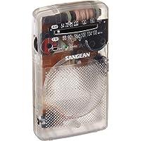 Sangean SR-35CL AM/FM 新奇 口袋 收音机 透明
