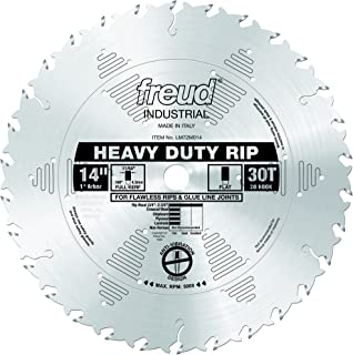 Freud LM72M014 14-Inch 30 Tooth FTG Ripping Saw Blade with 1-Inch Arbor