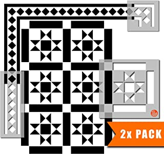 Kensington Victorian 瓷砖模板用于墙和地板 | 可定制尺寸 30 cm (6 tile repeat)