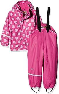 caretec 儿童一套防水 rainjacket & 裤