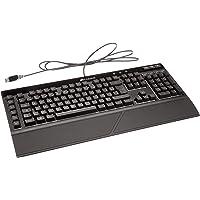 Corsair K55 RGB 游戏键盘 PC/Mac,键盘(法语布局)