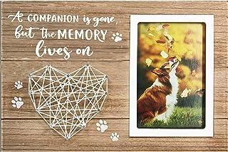 cocomong 宠物狗纪念礼物,4x6 照片相框,狗丢失的纪念礼物 – 伴侣已经消失,但*会活着