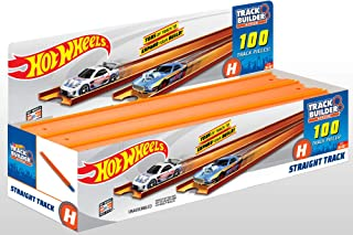 Hot Wheels Straight 172 ft.Track, 100 Pack [Amazon Exclusive]