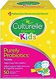 Culturelle 康萃乐 儿童每日益生元膳食补充剂| 有益于机体系统| 自然发挥作用 | 50包