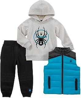 Spyder 男婴 3 件套背心套装
