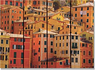 Gizaun Art Italian Villa 内外壁画,全彩雪松 棕褐色 22-1/2-Inch by 16-Inch IV2216