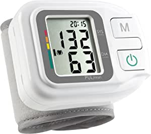 Medisana 自动手腕*监测仪,适合家庭使用,心跳信号节奏探测器,高*指示器 - 基于世界卫生组织指南,60 个*,14-19.5cm 袖口