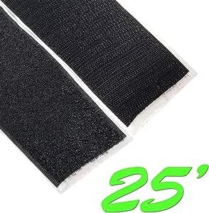 2.54 厘米自粘钩环粘性背胶带扣件