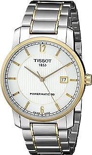 Tissot T0874075503700 T-经典模拟显示瑞士自动银色手表