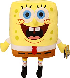 SPONGEBOB SQUAREPANTS EU691171 Cuddle 12 英寸毛绒玩具,黄色