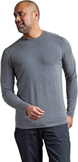 ExOfficio 男式 Fraser 圆领长袖衫