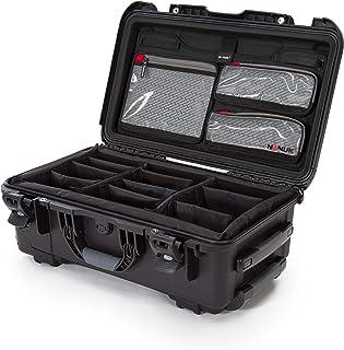 Nanuk 935 防水硬壳带盖收纳盒和加垫隔层 - 黑色