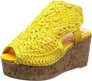[NUVELOVOREE] 手编楔形凉鞋 12-578