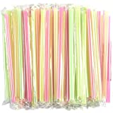 Disposable Drinking Straws Jumbo Straws 100 Pack