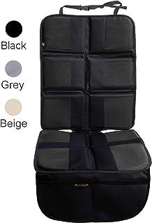 Shmidt'S 汽车座椅保护豪华汽车座椅套夏季/冬季婴儿和儿童 - 防滑重型汽车座椅垫保护垫适用于婴儿/内饰 黑色 1A-Y3LU-A1NT