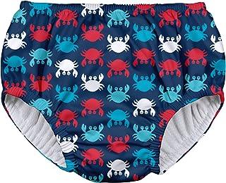i play。 男孩可重复使用的拉提游泳尿布