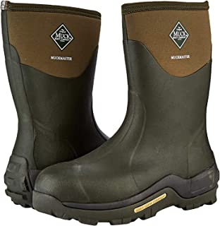 Muck Boots 中性款成人 Muckmaster Mid Wellington 靴子 Brown (Moss/Moss) 7 UK