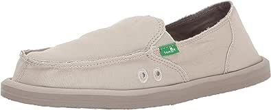 Sanuk Donna Daily 女士一脚蹬乐福鞋 天然 8 M US