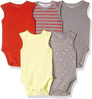 Hanes Ultimate Baby Flexy 5 件装无袖连体衣(背心)