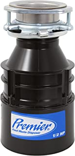 Premier 143052 1/2 Horsepower Food Waste Disposer