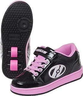 HEELYS(HEELYS) 低帮鞋 脉冲 4.0 HES10157-200 黑色/粉色 20cm