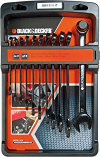 黑色 + Decker BDHT0-71618 一套共 11 个组合钥匙