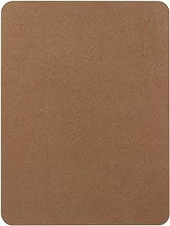 天鹅绒修复补丁,自粘法兰绒面料补丁,多色可选,防刮皮革 20.32 x 27.94 厘米即剥即贴沙发,汽车座椅手袋夹克(驼色)