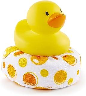 Munchkin 鸭子清洁洗澡玩具 黄色