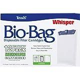 Tetra Whisper 未组装的 Bio-Bag 滤芯 白色 Medium, 12-Pack