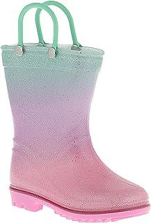 CAPELLI NEW YORK 幼儿女孩爱心星星印花雨鞋