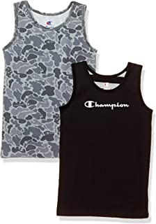 Champion 2件装 圆领T恤 CB3-R701 男童 灰色 130