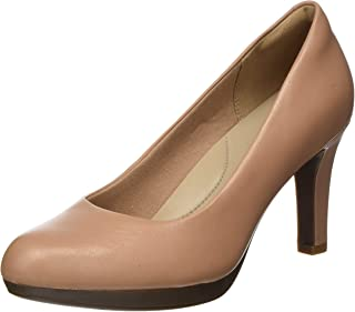 Clarks 女式 adriel VIOLA 包头高跟鞋