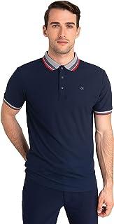 Calvin Klein 男士闪光 Polo 衫