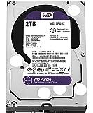 WD 西部数据硬盘内置硬盘3.5英寸 WD Purple SATA6GB / S  3) 2TB