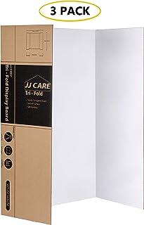 [重型] 91.44 厘米 x 121.92 厘米三折海报板;瓦楞纸板面板;艺术项目和科学展览板的展示板由 JJ Care 出品
