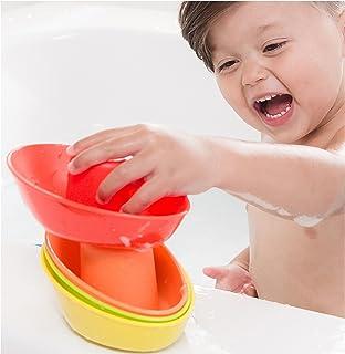 Nuby 5 件装堆叠洗澡船